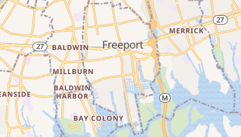 Freeport, New York map