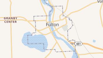 Fulton, New York map