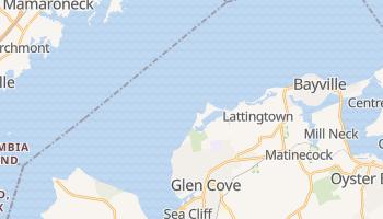 Glen Cove, New York map