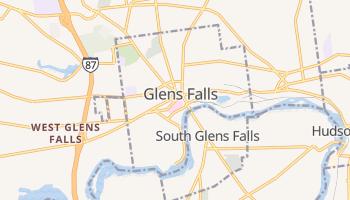 Glens Falls, New York map