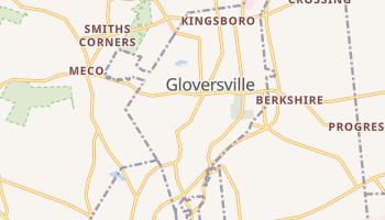 Gloversville, New York map