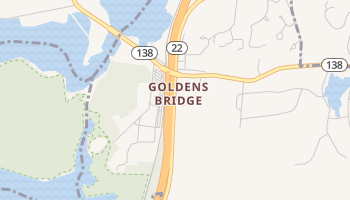 Goldens Bridge, New York map