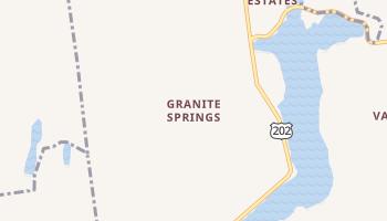 Granite Springs, New York map