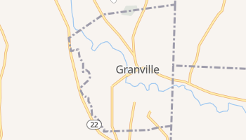 Granville, New York map