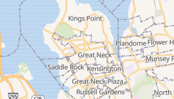 Great Neck, New York map