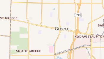 Greece, New York map