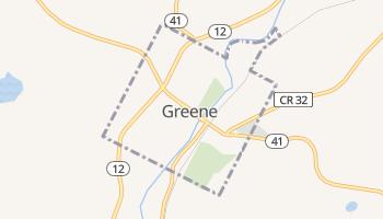Greene, New York map