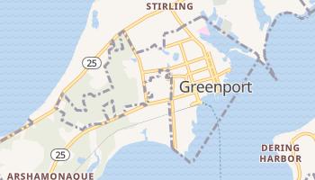 Greenport, New York map