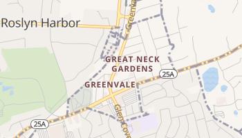 Greenvale, New York map