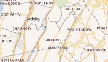 Greenville, New York map