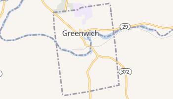 Greenwich, New York map