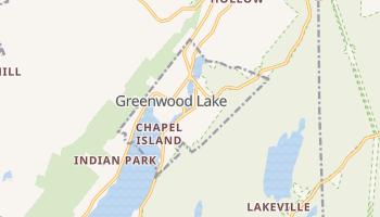 Greenwood Lake, New York map