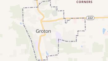 Groton, New York map