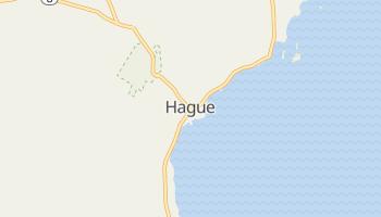 Hague, New York map