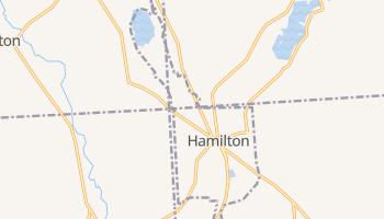 Hamilton, New York map