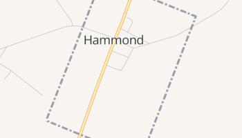 Hammond, New York map