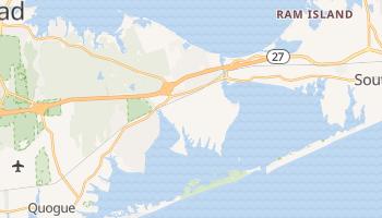 Hampton Bays, New York map