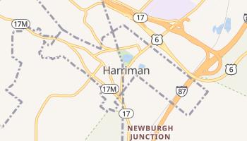 Harriman, New York map