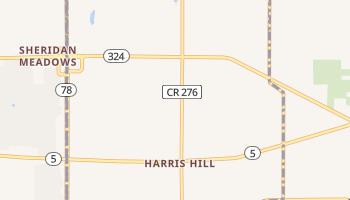 Harris Hill, New York map