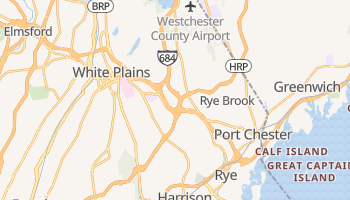 Harrison, New York map