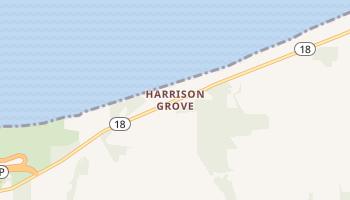 Harrison Grove, New York map