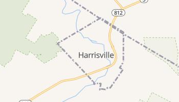 Harrisville, New York map