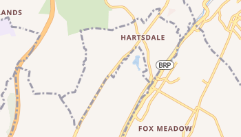 Hartsdale, New York map