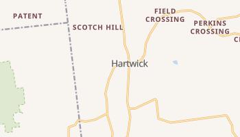 Hartwick, New York map