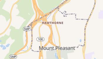 Hawthorne, New York map