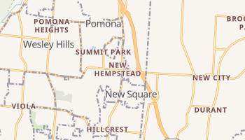 Hempstead, New York map
