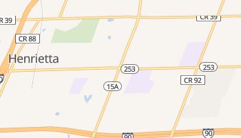 Henrietta, New York map