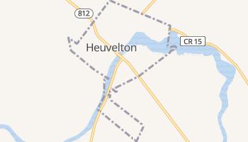 Heuvelton, New York map