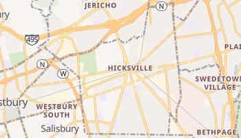 Hicksville, New York map