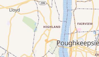 Highland, New York map