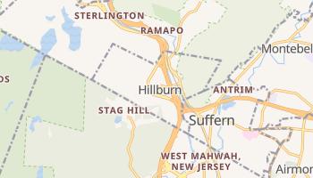 Hillburn, New York map