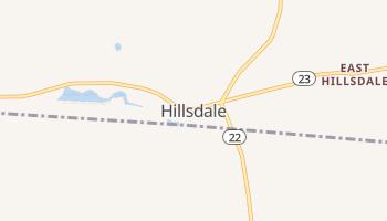 Hillsdale, New York map