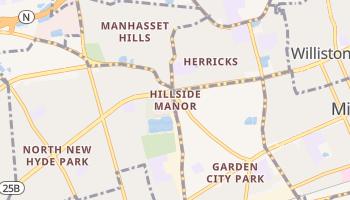 Hillside Manor, New York map