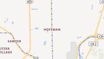 Hoffman, New York map