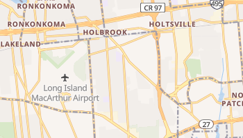 Holbrook, New York map