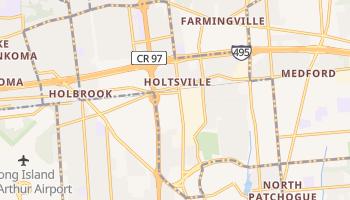 Holtsville, New York map