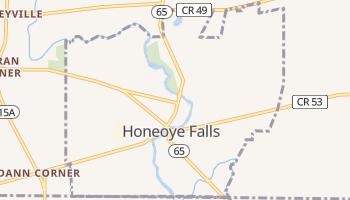 Honeoye Falls, New York map