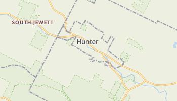 Hunter, New York map