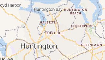 Huntington, New York map