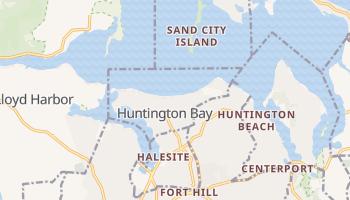 Huntington Bay, New York map