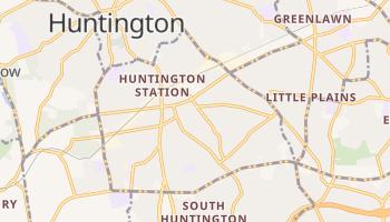 Huntington Station, New York map
