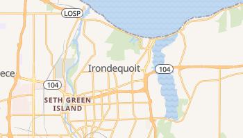 Irondequoit, New York map