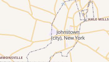 Johnstown, New York map