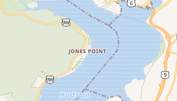 Jones Point, New York map