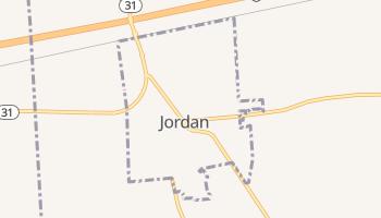 Jordan, New York map