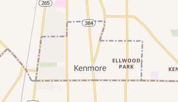 Kenmore, New York map